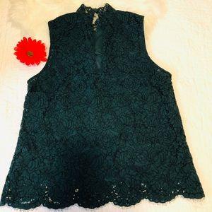 H&M lace blouse size 10